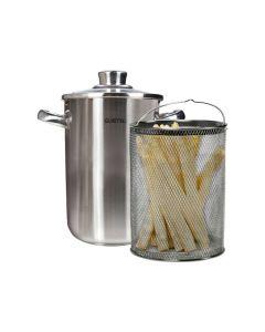 Asperge-Spaghettipan RVS 3L
