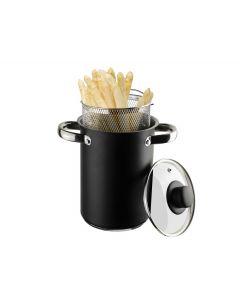 Asperge-Spaghettipan Zwart 4L