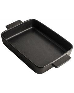 Ovenschaal 25,5x19,5x6cm Zwart