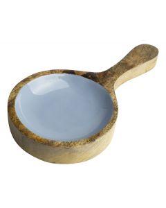 Paddle 26,5x14x3,5cm 'Mango Enamel'