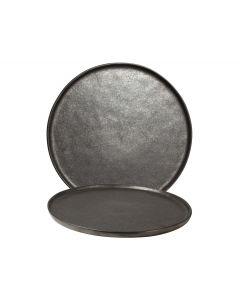 Bord ø26,5cm Zwart Table Tales Shimmer