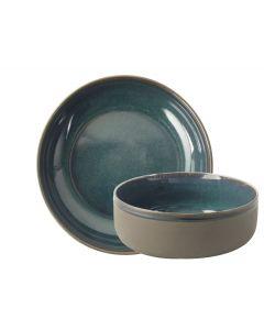 Kom ø15x6,5cm Blauw Table Tales Azur