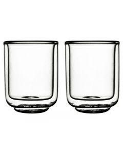 Gusta FIKA glas dubbelwandig 100 ml - 2 st.