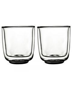 Gusta FIKA glas dubbelwandig 275 ml - 2 stuks