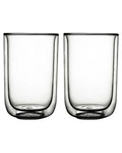 Gusta FIKA glas dubbelwandig 400 ml - 2stuks