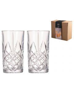 Glazen 350ml - set 2 stuks