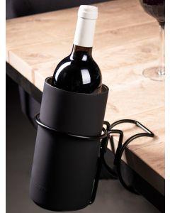 Tafelklem wijnkoeler zwart