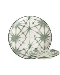 Bord Atomium ø26,5cm TT Evergreen