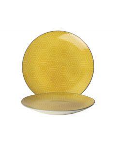 Bord ø20cm Hexagon