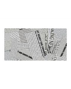 Vetvrij papier zwart/wit - set 20 stuks