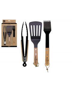 Gusta BBQ set tools mini 3-delig