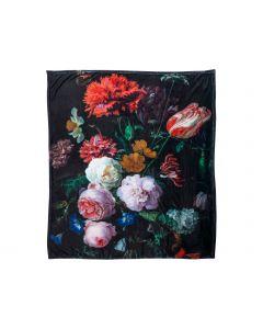Plaid bloemen 130x160cm - Hollandse Meesters