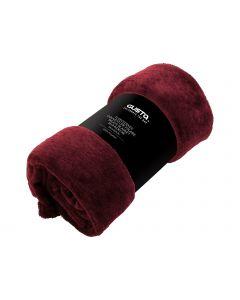 Plaid fleece 130x160cm rood