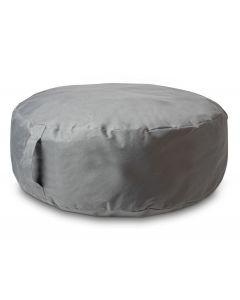 Poef opblaasbaar 60x20cm grijs