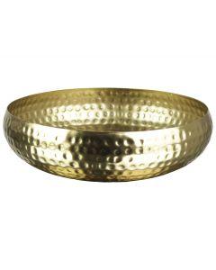 Schaal ø22x5,5cm Goud