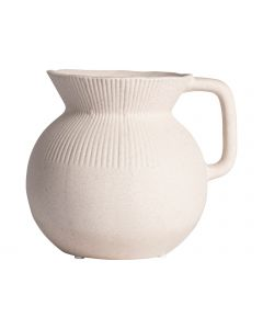 Vaas met handvat ø16,4x14,9cm