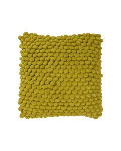 Kussen 43x43 Dot cover Donker Geel